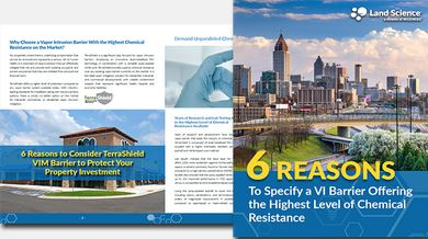 6 Reasons to Specify a Vapor Barrier Offering the Highest Level of Chemical Resistance