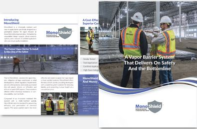 Download Brochure: MonoShield Reinforced Aluminum Vapor Barrier