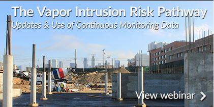 The Vapor Intrusion Risk Pathway