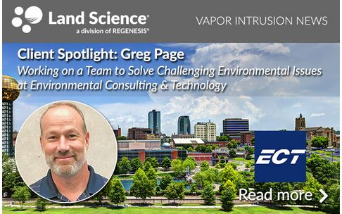Greg Page, Senior Engineer with Environmental Consulting & Technology, Inc. (ECT)