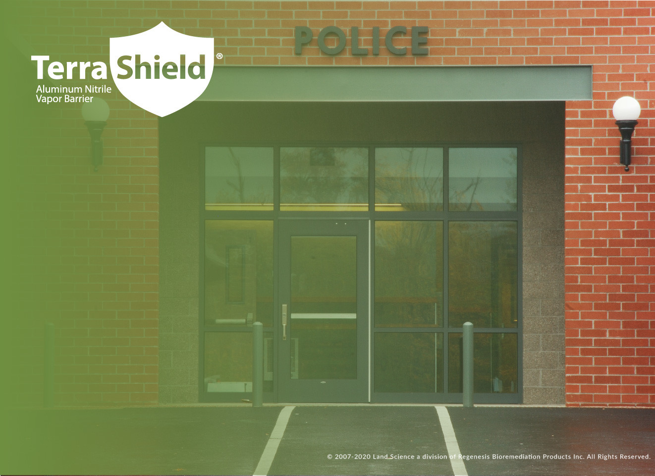 TerraShield Installed at San Francisco Police Station Annex