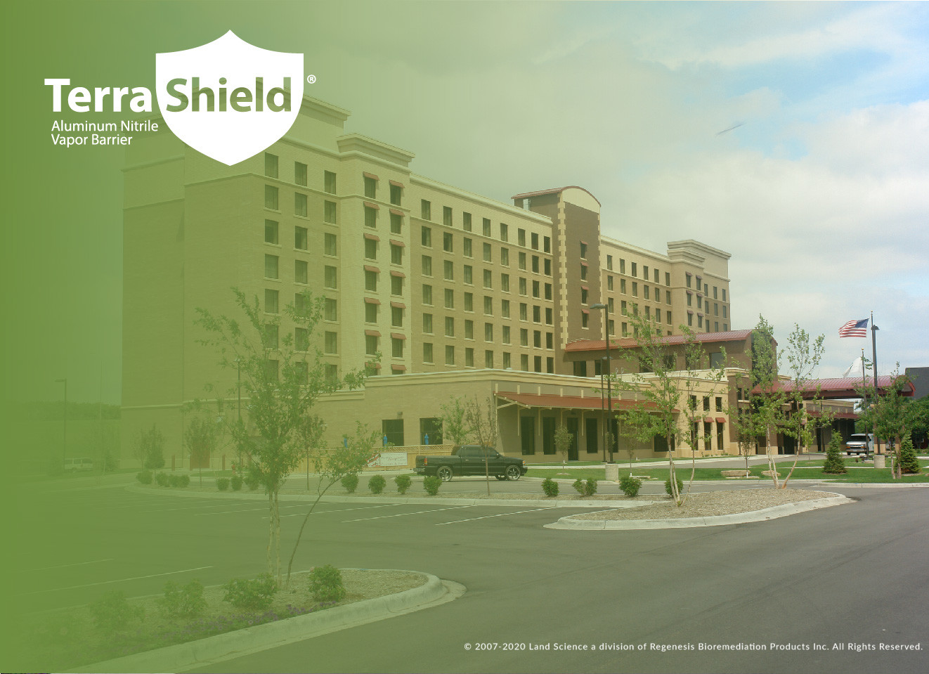 Leading Hotel Chain Moves Forward with Brownfield Site Construction Following Installation of Vapor Barrier System
