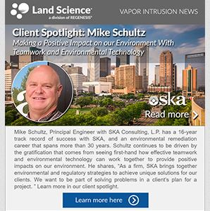 Mike Schultz, P.E., Partner and Principal Engineer with SKA Consulting, L.P.