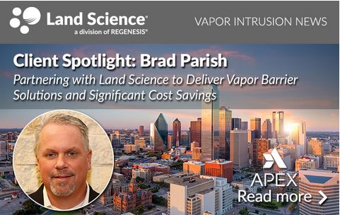Brad Parish, P.G., Senior Hydrogeologist with Apex Companies LLC