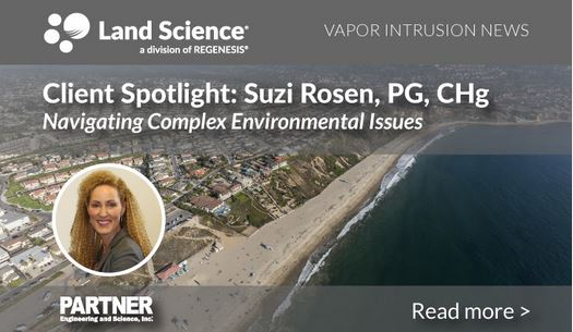 Suzi Rosen, PG, CHg, Principal and Technical Director for Partner Engineering & Science, Inc.