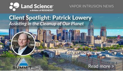 Patrick Lowery, Sr. Environmental Manager with SUMMIT Engineering, Laboratory & Testing, Inc
